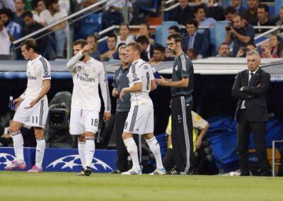 Bale, Kroos y Nacho