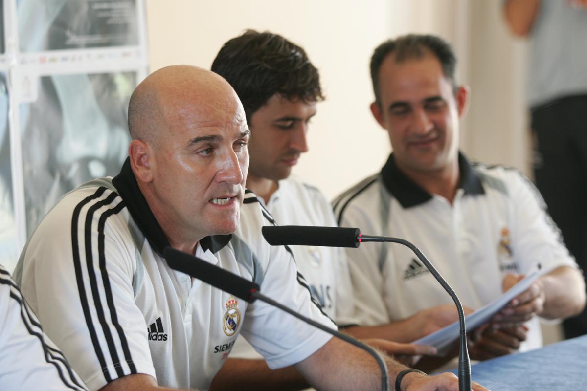 Rueda de prensa con Raúl