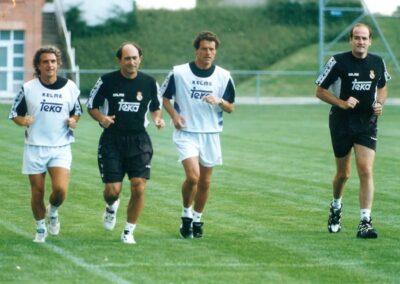 Fabio Capello y Pirri